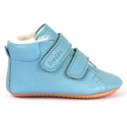 Boots fourrées Prewalkers light blue