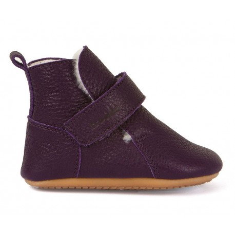 Bottines fourrées Prewalkers purple