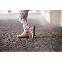 Kids barefoot winter Penguin pink