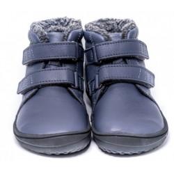 Kids barefoot winter Penguin charcoal