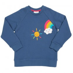 Sweat coton bio Rainbow