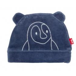Bonnet coton bio velours Pingouin