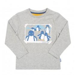 Tee-shirt coton bio Pingouin