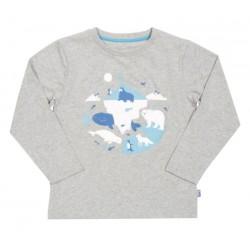 T-Shirt coton bio Animaux de l'artique