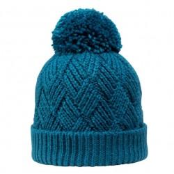 Bonnet laine Mérinos Setzberg Bleu