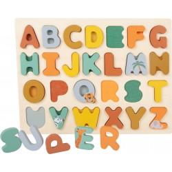 Puzzle bois ABC Image Safari