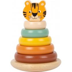 Tigre bois a empiler