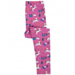 Leggings coton bio Licorne Rose
