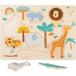 Puzzle bois Safari