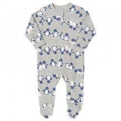 Pyjama coton bio Zip Pingouin