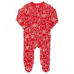 Pyjama coton bio Zip Ours