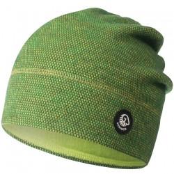 Bonnet laine Mérinos Beanie Vert