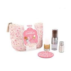 Trousse maquillage bio Scintillante Rose
