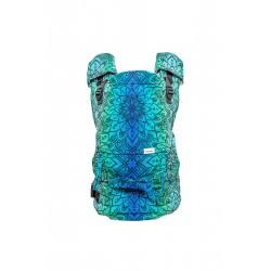 Porte bébé ergonomique en coton bio Mandala Polar Night
