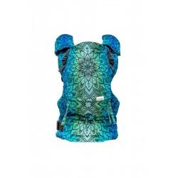 Porte bébé ergonomique en coton bio Mandala Polar Day