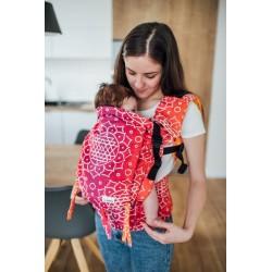 Porte bébé ergonomique en coton bio Shri Yantra Lila