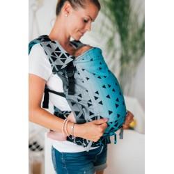 Porte bébé ergonomique Triangle Saphire