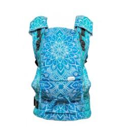 Porte-bébé physiologique 4ever Mandala blue