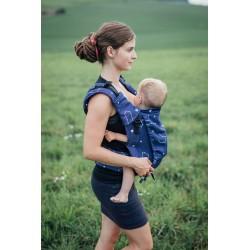 Porte bébé ergonomique en coton bio Constellations