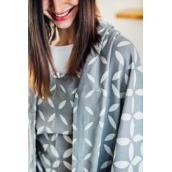 Echarpe de Portage en coton bio Classic Grey