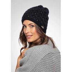 Bonnet laine Mérinos Roteck Black
