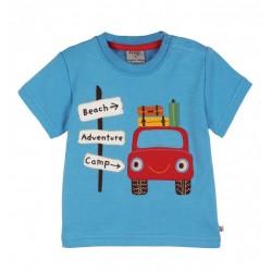 Tee-shirt coton bio Vacances