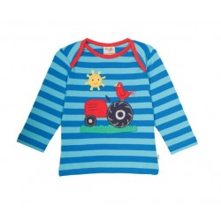 Tee-shirt coton bio Ferme 3-6 Mois