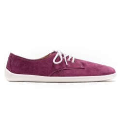 Barefoot Shoes City Plum and white