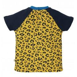 Tee-shirt coton bio Léopard