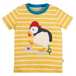 T-Shirt coton bio Macareux