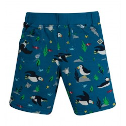 Short coton bio Réversible Puffin