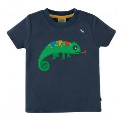 T-shirt coton bio Caméléon