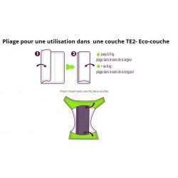TE2 Eco-Couche Evolutive V2 Rose