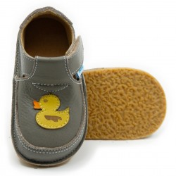 Chaussures souples cuir Duck