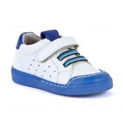 Baskets Flex white-blue