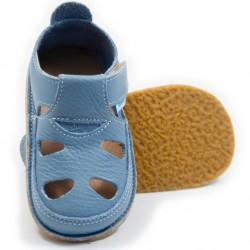 Sandales cuir souples