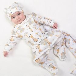 Pyjama coton bio Girafe