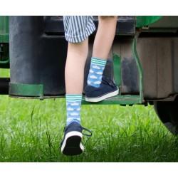 Lot 3 paires chaussettes coton bio Tracteur
