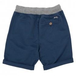 Short coton bio Yacht Bleu