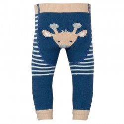 Leggings coton bio Girafe