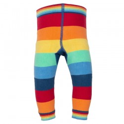 Leggings coton bio Arc-en-ciel