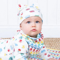 Bonnet coton bio Splash