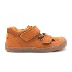 Sandales Plus cuir bio Miel