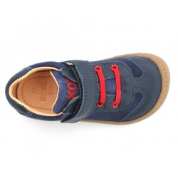 Barefoot Plus cuir bio Blue