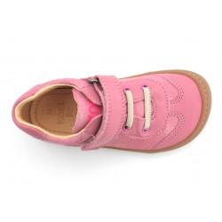 Barefoot Plus cuir bio Rose