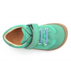 Barefoot Plus cuir bio Green