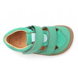 Sandales Plus cuir bio Lt Green