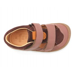 Sandales Plus cuir bio Old Pink