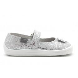 Ballerine Barefoot Silver Shine