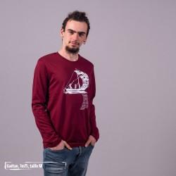 T-Shirt manches longues coton bio D'un seul Souffle